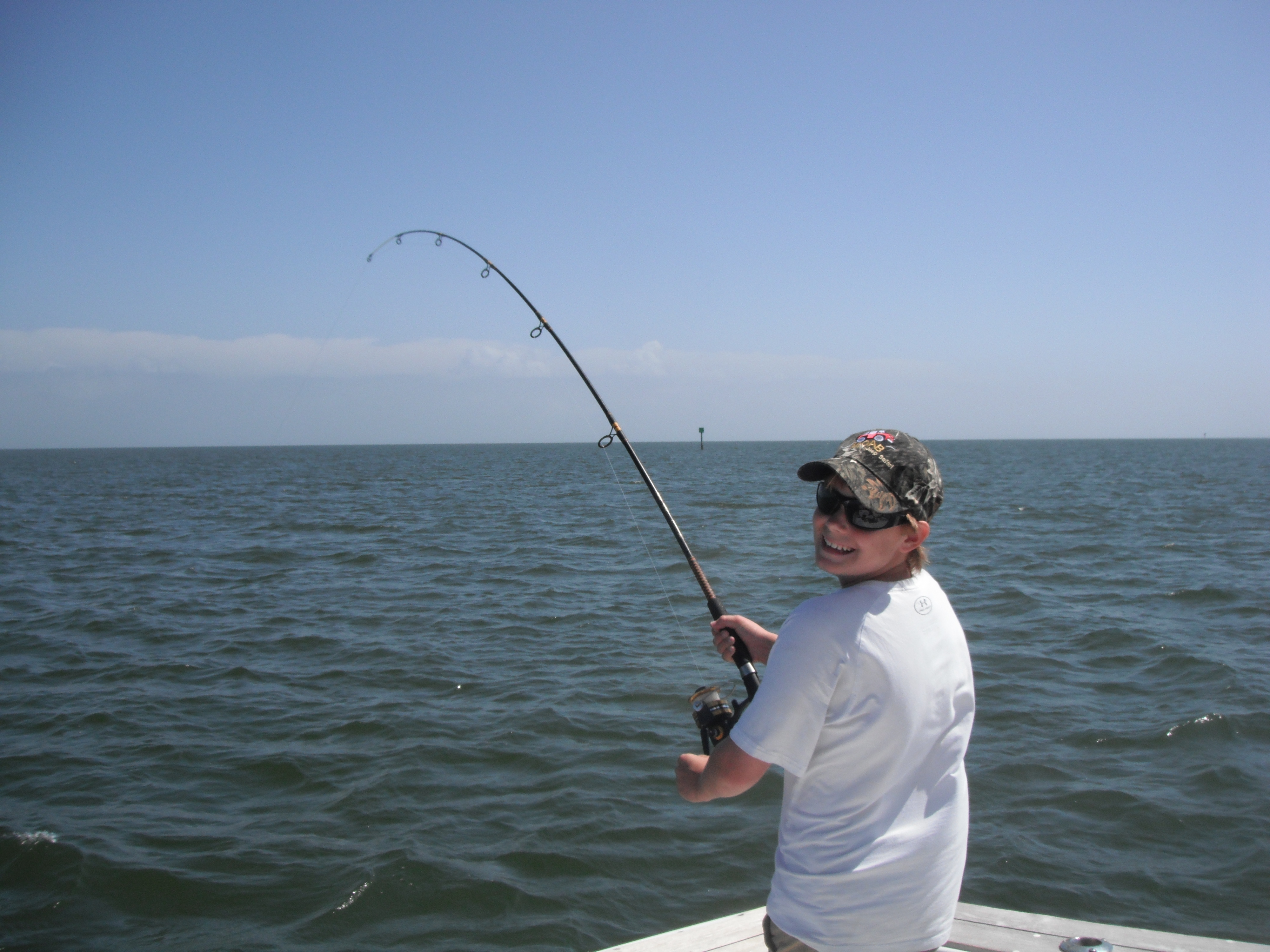 Outer banks charters inshore trip for Fishing charters outer banks