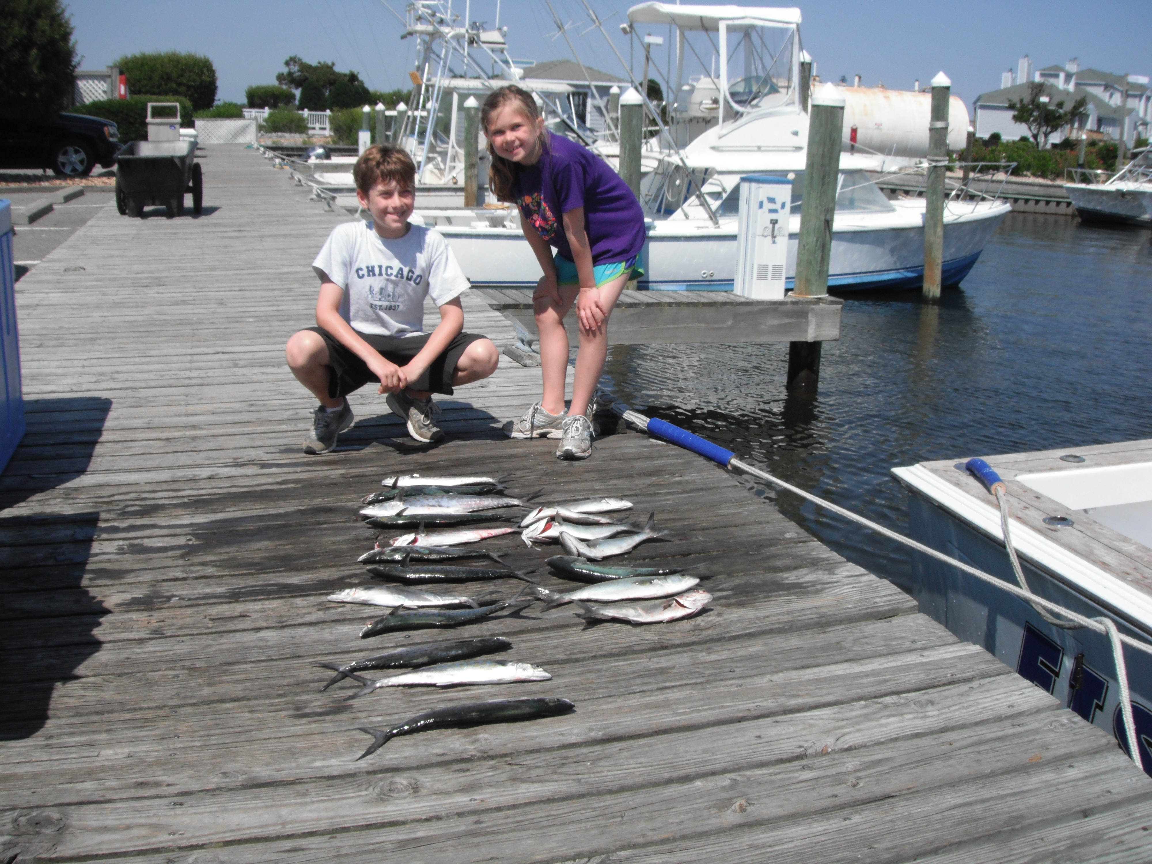 Outer banks charters nearshore june 9 for Obx charter fishing