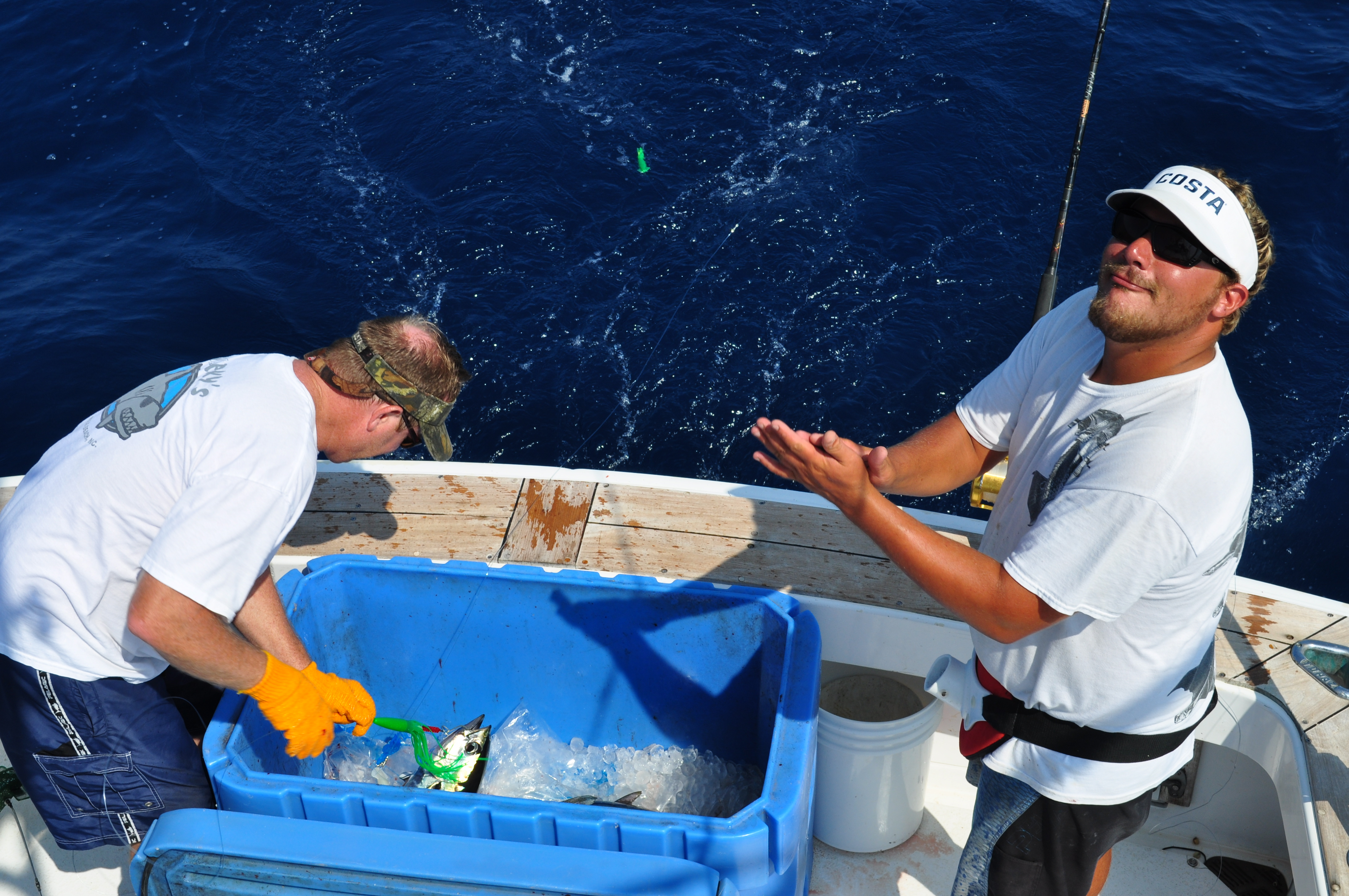 Outer banks fishing report tuna trip for Obx charter fishing