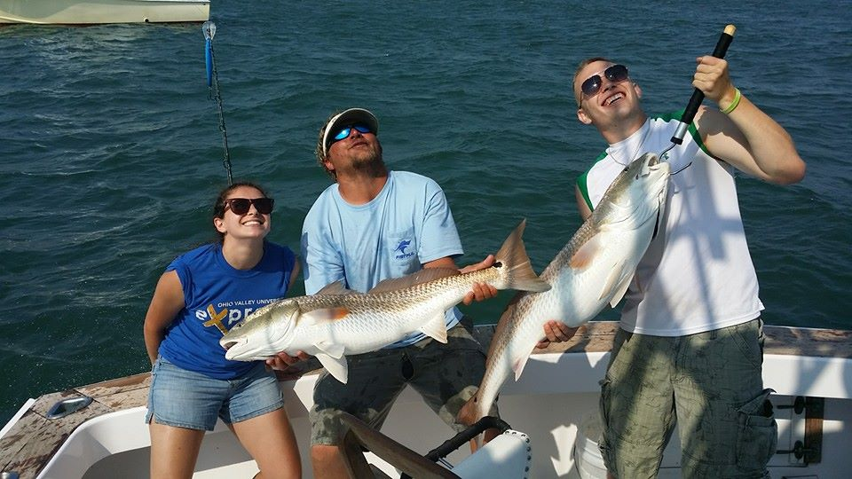 Outer banks fishing report red drum for Obx fishing report