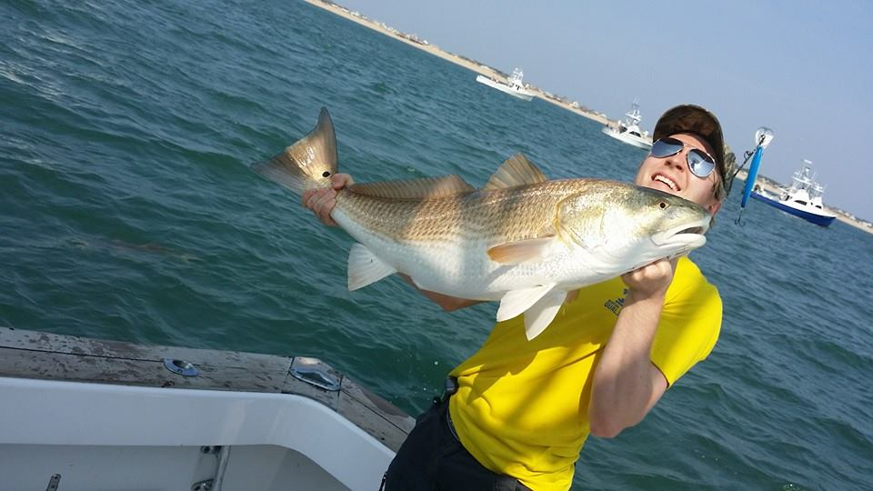 Outer banks fishing report red drum for Fishing charters outer banks